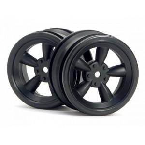 HPI3816 Комплект дисков 1:10, для шин VINTAGE 5 SPOKE,черный, шир.26мм, вылет 0мм, шоссе, 2шт