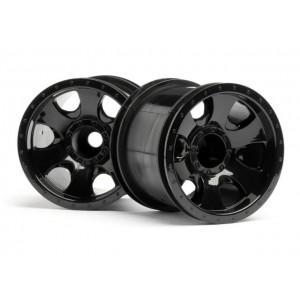 """HPI106724 Комплект дисков 1:10, для шин Warlock, 2.2"""", черный, 2 шт"""