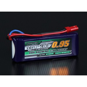 LiPo аккумулятор Turnigy nano-tech 950mah 2S 25-50C