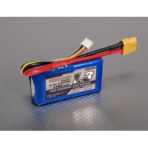 LiPo аккумулятор Turnigy 1300mAh 2S 20C