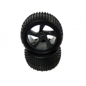 28653 Tire and Rim for Truggy 2P