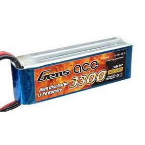 LiPo аккумулятор Gens Ace 11.1V 3300 mAh 3S1P 25C Soft Case