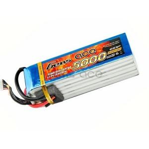 LiPo аккумулятор Gens Ace 22.2V 5000 mAh 6S1P 45C Soft Case