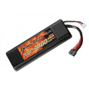LiPo аккумулятор Gens Ace 7.4V 4000 mAh 2S1P 30C Hard Case
