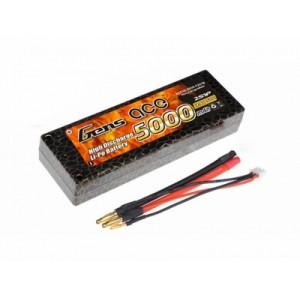 LiPo аккумулятор Gens Ace 7.4V 5000 mAh 2S1P 50C Hard Case