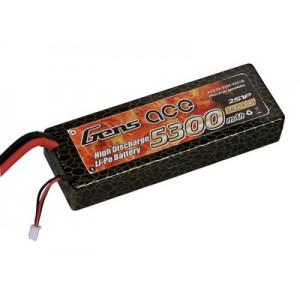 LiPo аккумулятор Gens Ace 7.4V 5300 mAh 2S1P 30C Hard Case