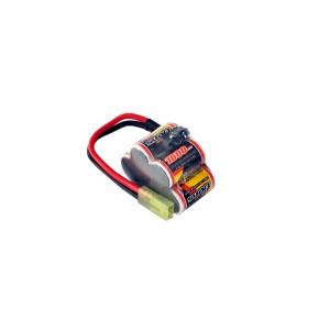 NiMh аккумулятор Gens Ace 6V 1600 mAh Offset Brick - JST BEC