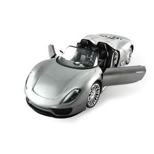 Радиоуправляемая модель 1/14 Porsche 918 (серый)