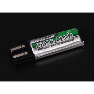 Аккумулятор Lipo Turnigy nano-tech 160mah 1S 25~40C
