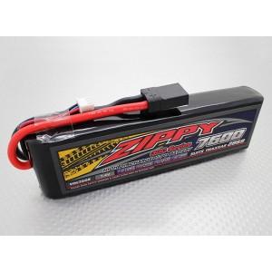 LiPo аккумулятор ZIPPY Traxxas 7600mAh 2S1P 30C