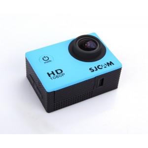 Влагозащищенная видеокамера SJCam SJ4000 (синяя)
