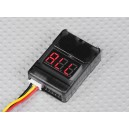 Сигнализатор разряда аккумулятора 2-8S Cell Checker