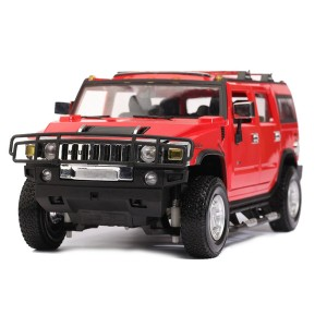 Машинка на р/у 1:14 Meizhi Hummer H2 (красный)