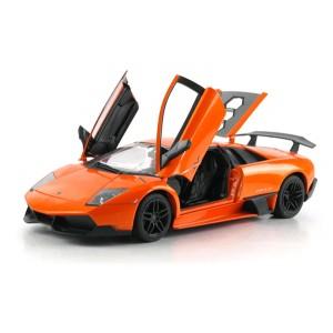 Машинка на р/у 1:18 Meizhi Lamborghini LP670-4 SV металлическая (оранжевый)
