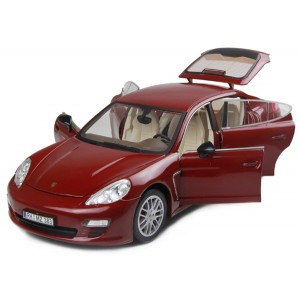 Машинка на р/у 1:18 Meizhi Porsche Panamera металлическая (красный)