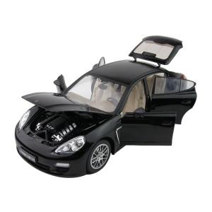 Машинка на р/у 1:18 Meizhi Porsche Panamera металлическая (черный)