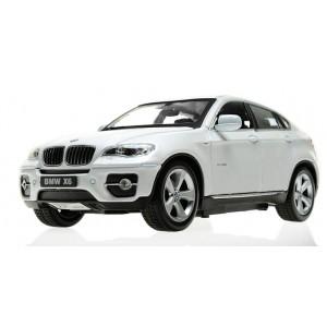 Машинка на р/у 1:24 Meizhi BMW X6 металлическая (белый)