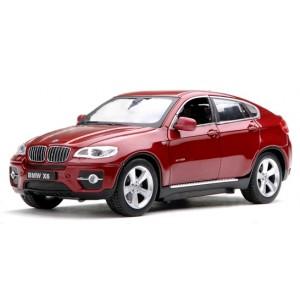 Машинка на р/у 1:24 Meizhi BMW X6 металлическая (красный)