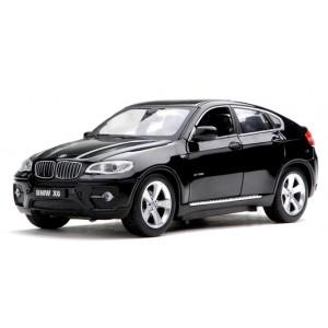 Машинка на р/у 1:24 Meizhi BMW X6 металлическая (черный)