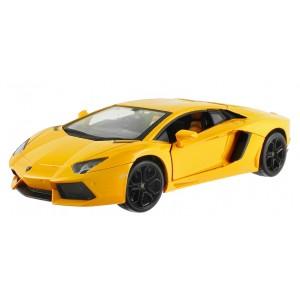 Машинка на р/у 1:24 Meizhi Lamborghini LP700 металлическая (желтый)