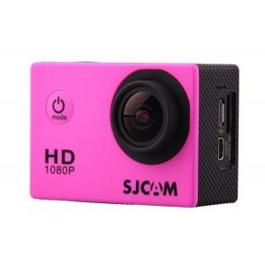 Влагозащищенная видеокамера SJCam SJ4000 (розовая)