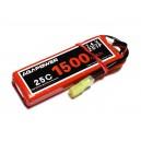Аккумулятор AGA POWER Li-Po 1500mAh 7.4V 2S 25C Softcase 16x35x92мм Mini Tamiya