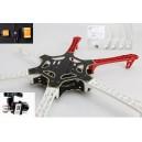 Гексакоптер F550 ARF KIT+NAZAM V2+GPS+Landing Skid+Mounting Adapter +H3-3D