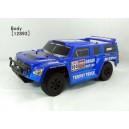 Автомобиль HSP Hummer Dakar H100 1:10 трофи - трак 4WD электро синий RTR