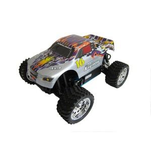 Автомобиль HSP Kingliness 1:16 монстр-трак 4WD нитро серебристо-синий RTR