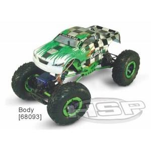 Автомобиль HSP Kulak 1:16 краулер 4WD электро зеленый RTR