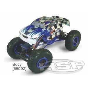 Автомобиль HSP Kulak 1:16 краулер 4WD электро синий RTR