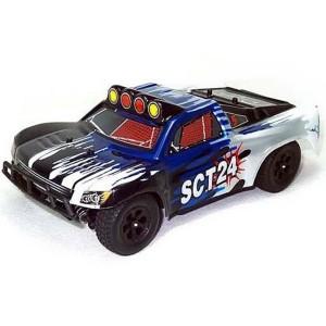 Автомобиль HSP ТT24 1:24 шорт-корс 4WD электро синий RTR