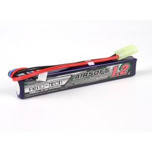 Аккумулятор для страйкбола Turnigy nano-tech 1200mah 2S 15~25C LiPo AIRSOFT
