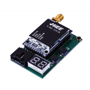 Видеопередатчик HIEE 5.8GHz TSD3206 600mW 2S-6S 32 канала для FPV систем 1300м