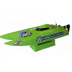 Катамаран Joysway Offshore Lite Sea Rider 0,42м 2.4ГГц электро зелёный RTR (c АКБ)