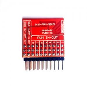 8-канальный 32 битный декодер PWM в PPM/SBUS/DBUS