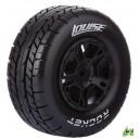 Колеса Louise Short Course 1/10 SC-ROCKET Soft 12мм передние черные 2шт (L-T3154SBTF)