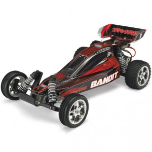 Автомодель багги 1/10 Traxxas Bandit XL-5 RTR 413 мм 2WD (24054-1 Red)