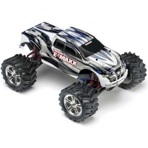 Автомодель монстра 1/10 Traxxas E-Maxx EVX RTR 518 мм 4WD (39036-1 Silver)