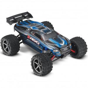 Автомодель монстра 1/16 Traxxas E-Revo RTR 328 мм 4WD (71054-1 Blue)