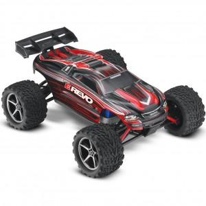 Автомодель монстра 1/16 Traxxas E-Revo RTR 328 мм 4WD (71054-1 Red)