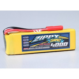 Аккумулятор LiPo ZIPPY Compact 4000mAh 3S 25C