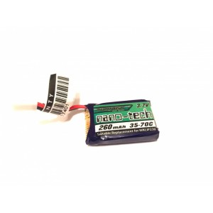Аккумулятор Lipo Turnigy nano-tech 260mah 1S 35~70C