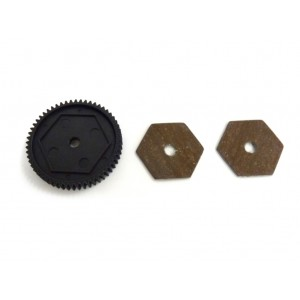 31611 Main Gear 68T and Slipper pads 1P