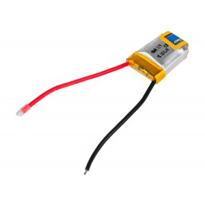 Аккумулятор LiPo Giant Power 100mAh 3.7V 1S 15C 7.5x16x20мм с защитой