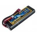 Аккумулятор LiPo Giant Power 2600mAh 7.4V 2S 35C Hardcase 25x46x138мм T-Plug