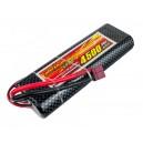 Аккумулятор LiPo Dinogy 4500mAh 7.4V 2S 30C Hardcase 25x46x138мм T-Plug