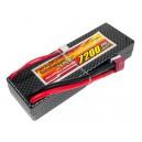 Аккумулятор LiPo Dinogy 7200mAh 7.4V 2S 30C Hardcase 25x46x138мм T-Plug