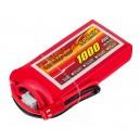Аккумулятор LiPo Dinogy 1000mAh 7.4V 2S 30C 14x35x68мм JST