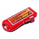 Аккумулятор LiPo Dinogy 1800mAh 7.4V 2S 30C 17x35x95мм T-Plug